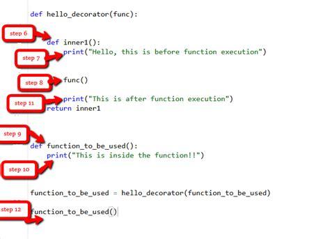 Decorators In Python - decorators in python geeksforgeeks