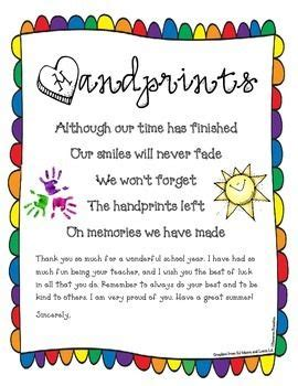 poem for preschool teacher end of poem and end of year on 969