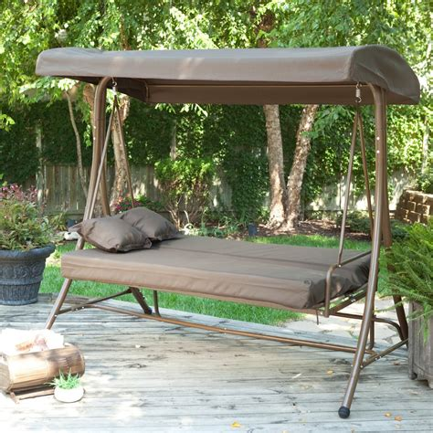 canap swing patio swing bed with canopy beautiful swing chair