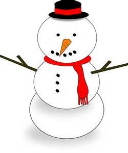 Google Snowman Clip Art