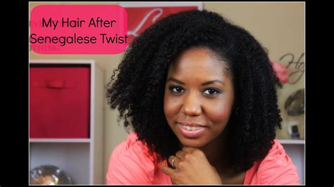 My Natural Hair After Senegalese Twist