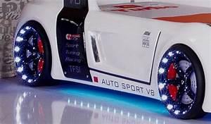 Autobett Mit Led : autobett turbo v8 m bel kinder bett autobetten led licht sound ebay ~ Sanjose-hotels-ca.com Haus und Dekorationen