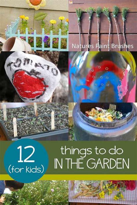 garden  kids hands
