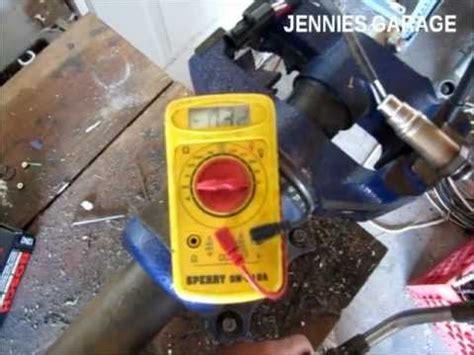 test  oxygen sensor    youtube