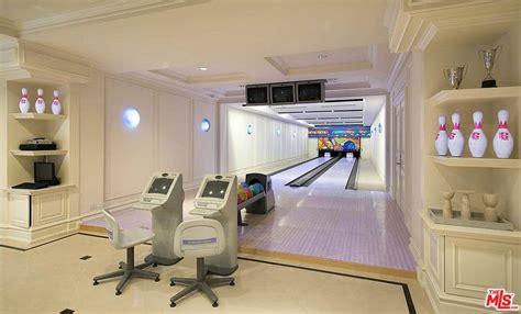 sq ft bel air mega mansion  bowling alley