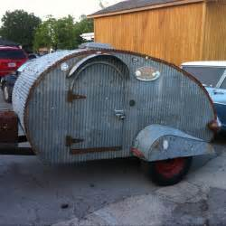 Homemade Teardrop Camper Trailer
