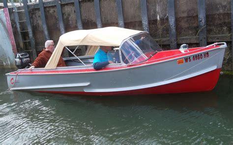 Crestliner Antique Boats by 1956 Crestliner Ruwaldt Acbs Antique Boats Classic