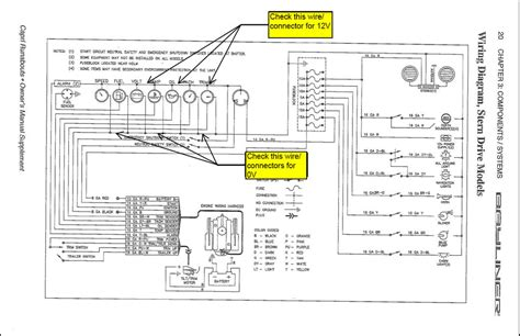 Bayliner Capri Electrical Guage Pannel Question