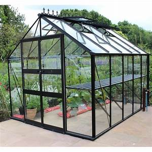 Gewächshaus Aus Glas : gew chshaus 8 13m sicherheitsglas blockley schwarz eden greenhouses ~ Whattoseeinmadrid.com Haus und Dekorationen