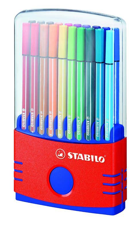 stabilo   felt fibre tip pens color parade