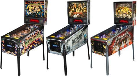 "Will The Metallica Table Help Pinball ""ride The Lightning"
