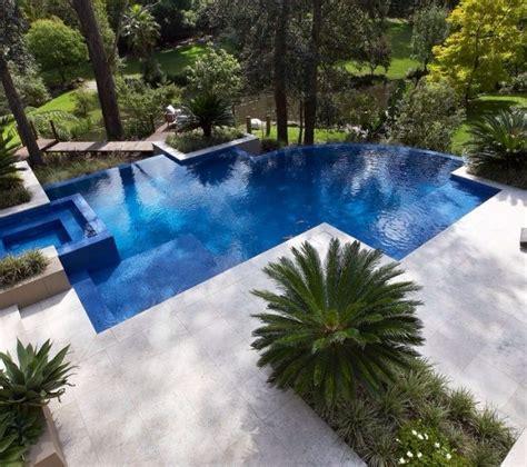 geometric pool designs images  pinterest