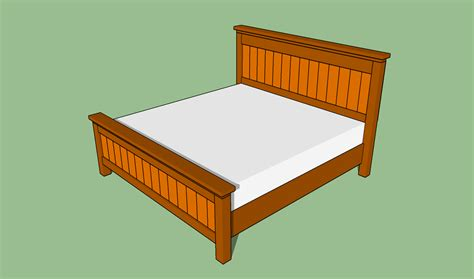 king size bed frame plans bed plans diy blueprints
