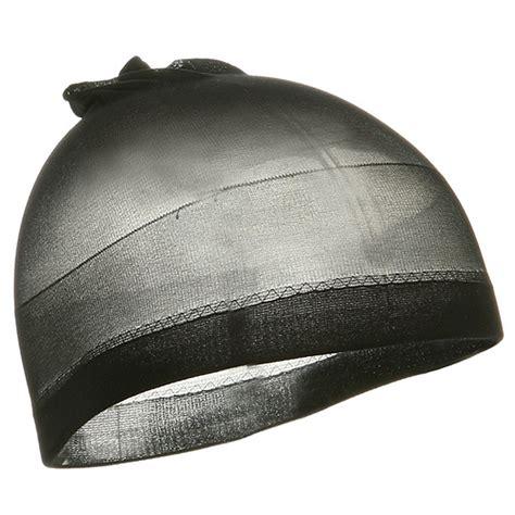 black stocking wave cap skull cap