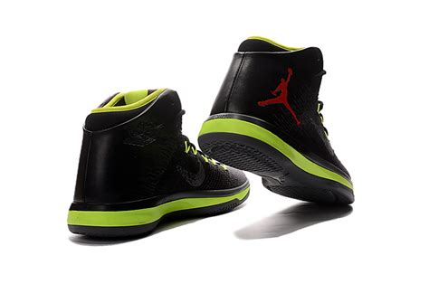 Mens Aj31 Nike Air Jordan Xxxi 31 Black Volt Yellow Red