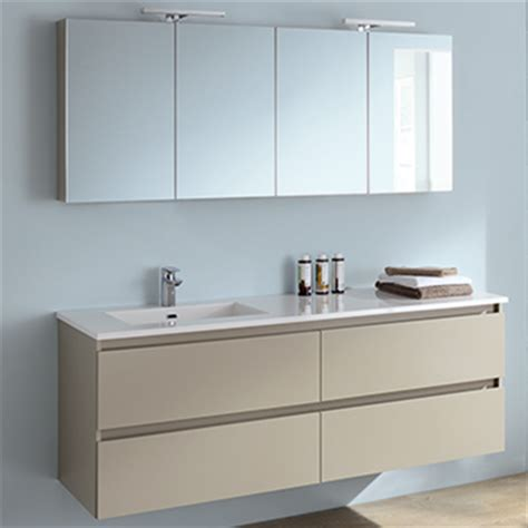 salle de bain sanijura meuble salle de bain led halo sanijura espace aubade