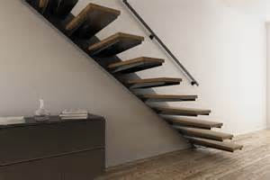 Escaliers Modernes Pas Chers by Escalier Suspendu En Bois Pas Cher Stairkaze