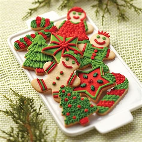 No doubt, this is my favorite christmas sugar cookie. Sugar Cookie Family Christmas Cookies   Wilton