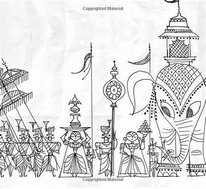 Ramayana Loophole Divine Patel Sanjay Paintings Indian