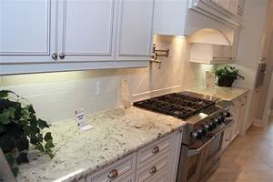 white-galaxy-granite-Kitchen-Modern-with-dark-wood ...