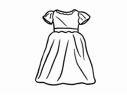 Coloring Dresses Sun Drawing Printable Coloringsun Pag