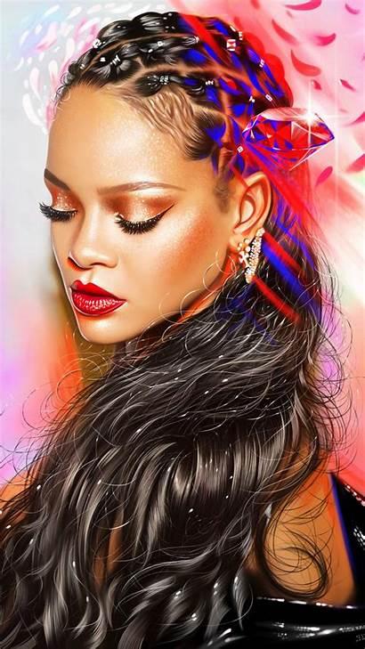 Rihanna Hairstyle Iphone