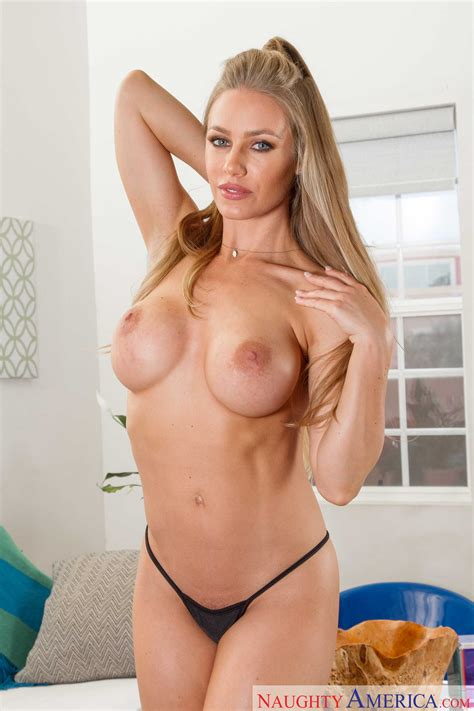 Sexy Blonde Is Ready To Get Nailed Photos Nicole Aniston