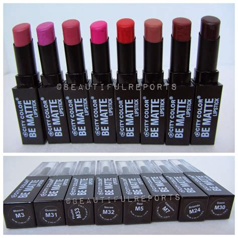 city colors city color be matte lipstick
