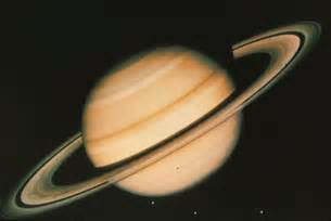Saturn Planet Real Color