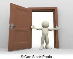 Open door Clipart and Stock Illustrations. 33,493 Open ...