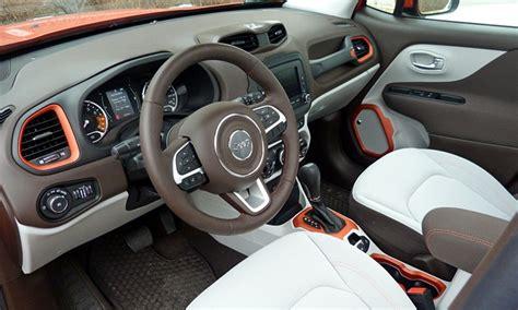 jeep renegade interior orange 2016 jeep renegade pros and cons at truedelta 2016 jeep