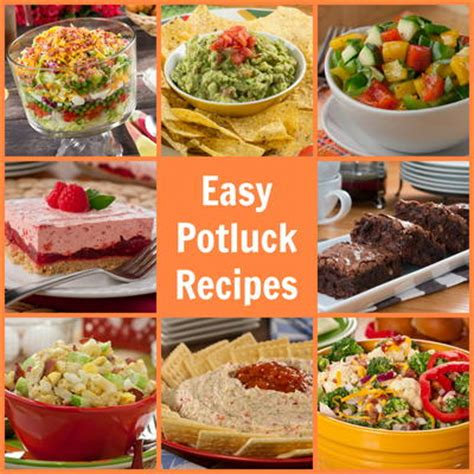 Easy Potluck Recipes 58 Party Pleasers Mrfoodcom