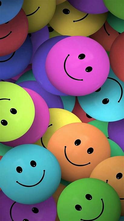 Emoji Smile Faces Phone Backgrounds Colorful Wallpapers