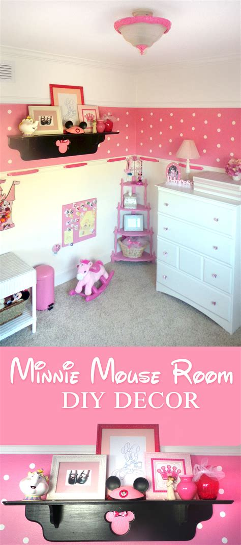 minnie mouse room decor for babies minnie mouse room diy decor highlights along the way