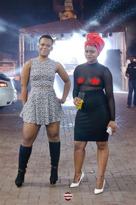 Zodwa Wa Bantu Has A Braless Friend