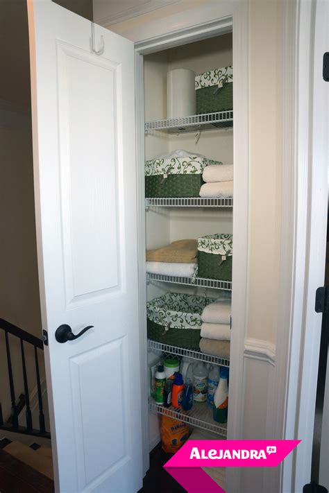 [video] How To Organize A Small Linen Closet