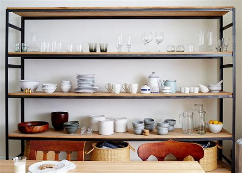 Offenes Regal by 10 Gorgeous Takes On Open Shelving In Kitchens