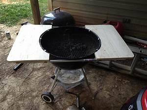 Weber grill tisch gunook for Weber tisch