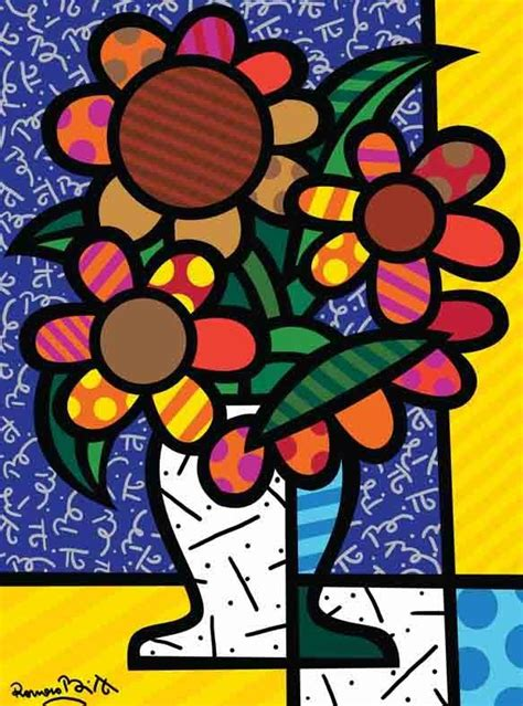 blogosfera marli as cores e formas de romero britto