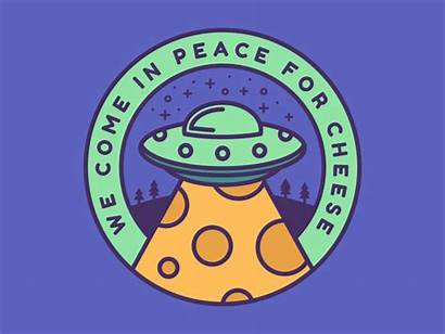 Peace Cheese Come Dribbble