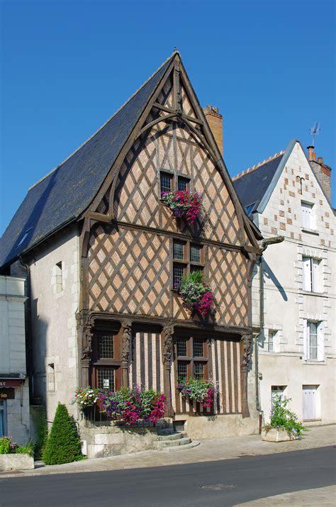 photo 224 luynes 37230 maison 224 pans de bois du xve si 232 cle 4 rue paul louis courier