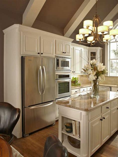 mod鑞e cuisine avec ilot central modele cuisine avec ilot central maison design bahbe com