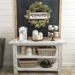 Winter styling coffee station/bar Nelly Friedel Home