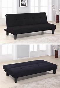 Folding sofas beds and chaise lounges for small spaces for Sectional sofa with fold out bed