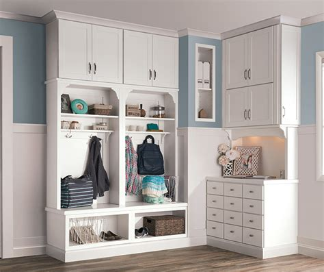 Entryway Storage Cabinet by White Entryway Storage Cabinets Aristokraft Cabinetry