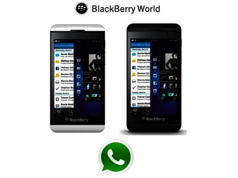 news whatsapp for blackberry 10 comes to blackberry world