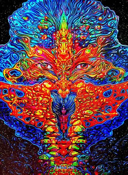 Psychedelic Spiritual Dmt Trip In5d Transcendence Metaphysical