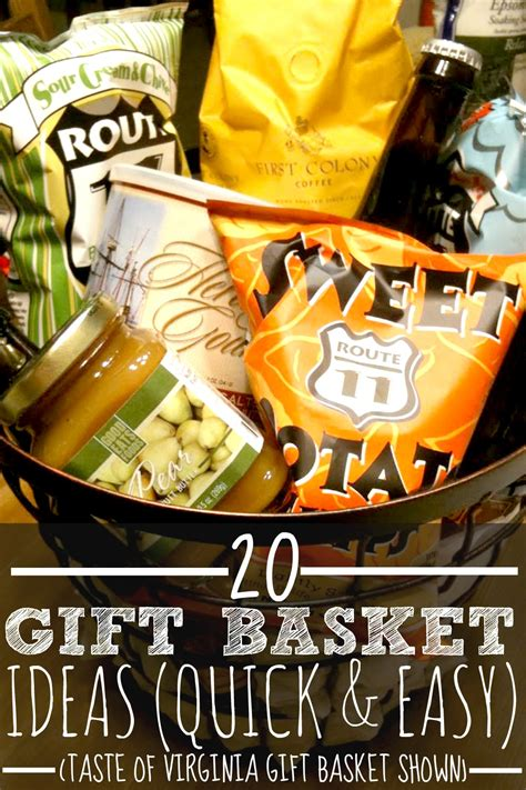 gift ideas for 20 gift basket ideas for every occasion thoughtful