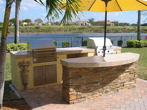 outdoor kitchen island designs outdoor kitchen image gas and charcoal backyard design weblog