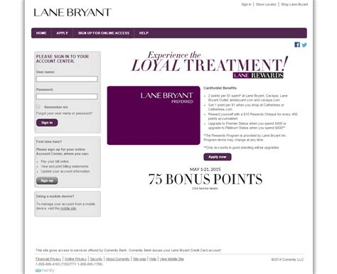 Maybe you would like to learn more about one of these? Lane Bryant Credit Card Login | Make a Payment
